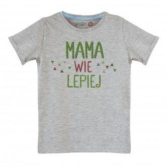 """Koszulka dla ch³opca """"Mama wie lepiej"""""""