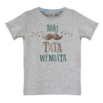 "Koszulka dla ch�opca ""M�j tata wymiata"""