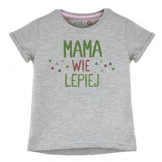 """Koszulka dla dziewczynki """"Mama wie lepiej"""""""