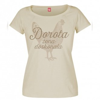 """Personalizowana koszulka damska """"¯ona doskona³a"""""""