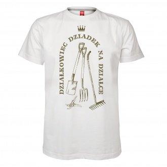 """Personalizowana koszulka m�ska """"Dzia�kowiec"""""""