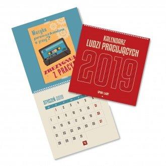 Kalendarz Ludzi Pracujących 2019 - na ścianę