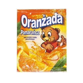 Oran¿ada w proszku pomarañczowa