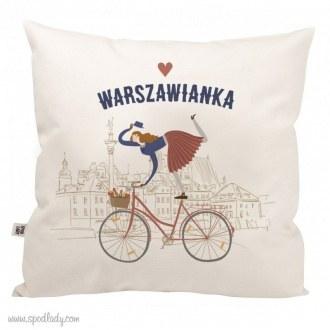 """Poduszka """"Warszawianka"""""""