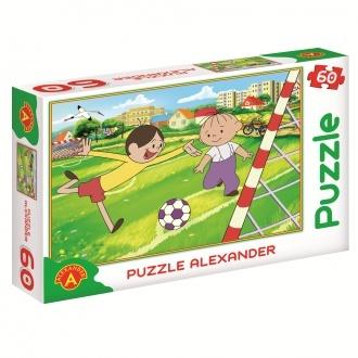 "Puzzle Bolek i Lolek ""Pi³ka no¿na"""