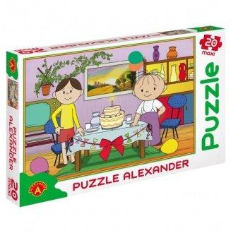 "Puzzle Bolek i Lolek ""Tort"""