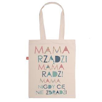 """Torba """"Mama rz±dzi"""""""