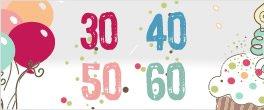 Prezenty na urodziny 30, 40, 50, 60