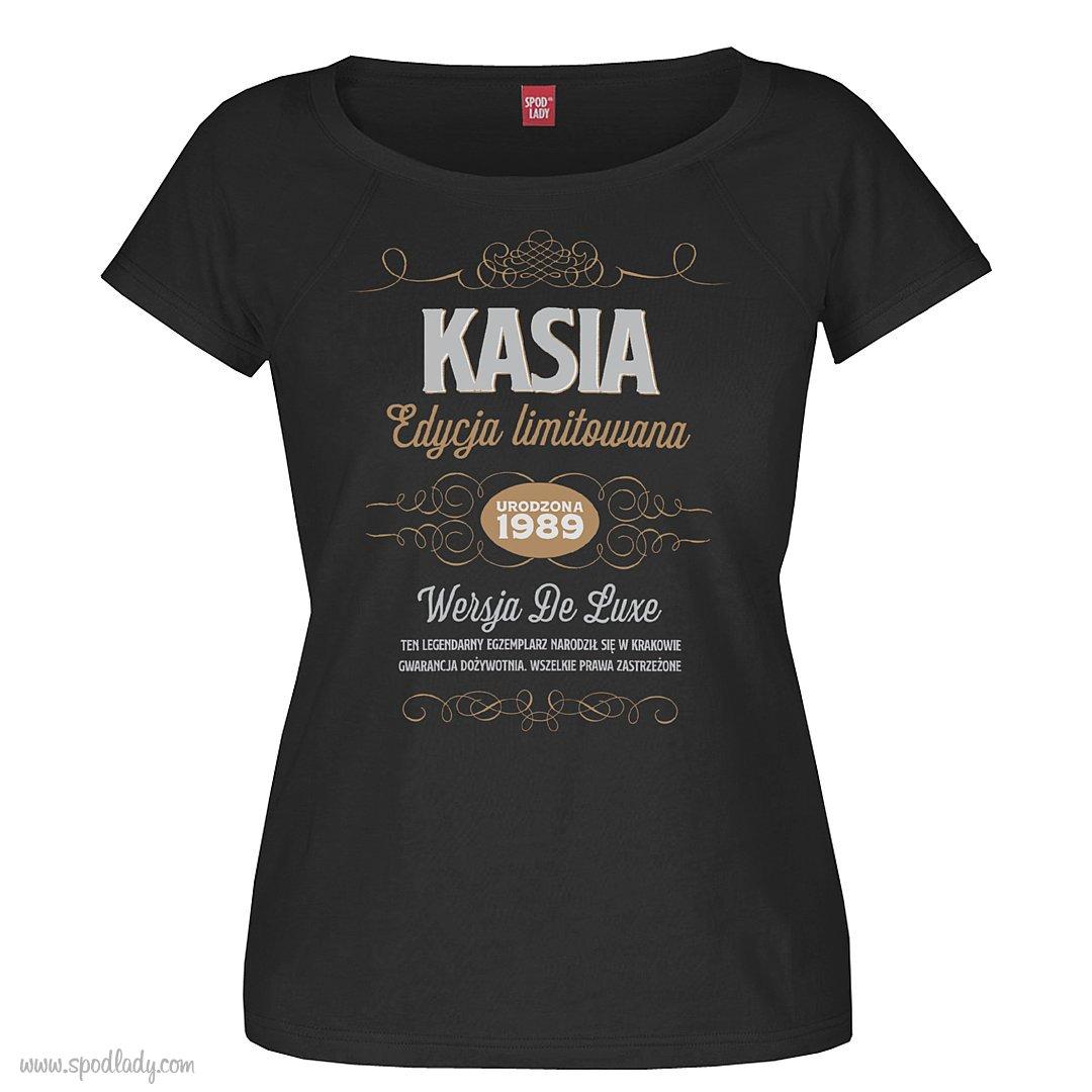 "Personalizowana koszulka damska ""Edycja limitowana"""