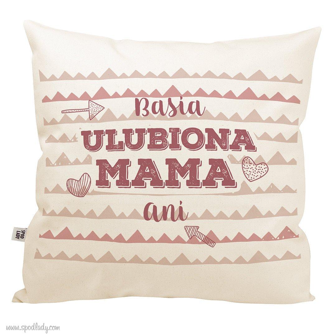 "Personalizowana poduszka ""Ulubiona mama"""