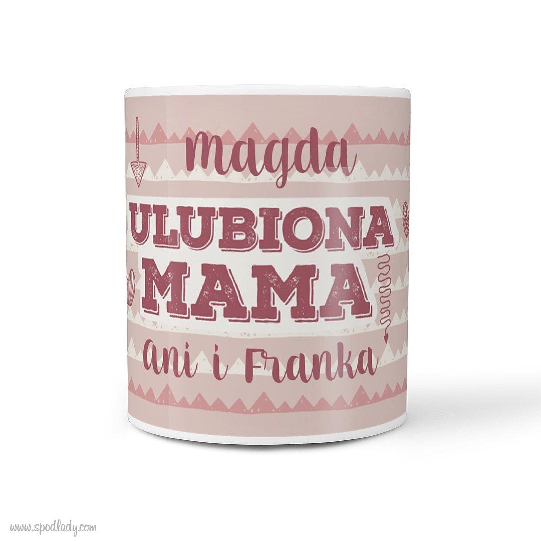 "Personalizowany kubek ""Ulubiona mama"""