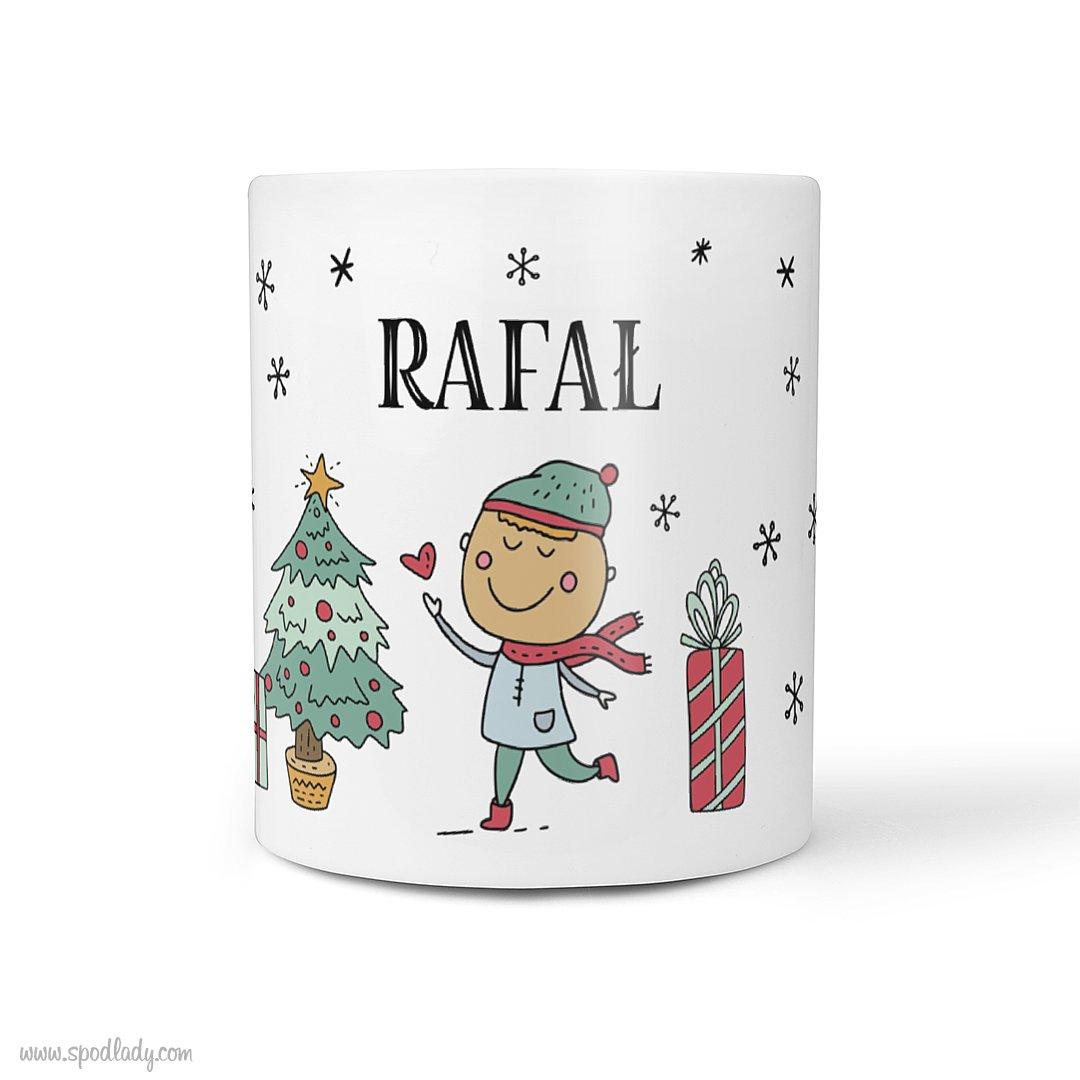 """Personalizowany kubek """"Święta"""" dla niego"""