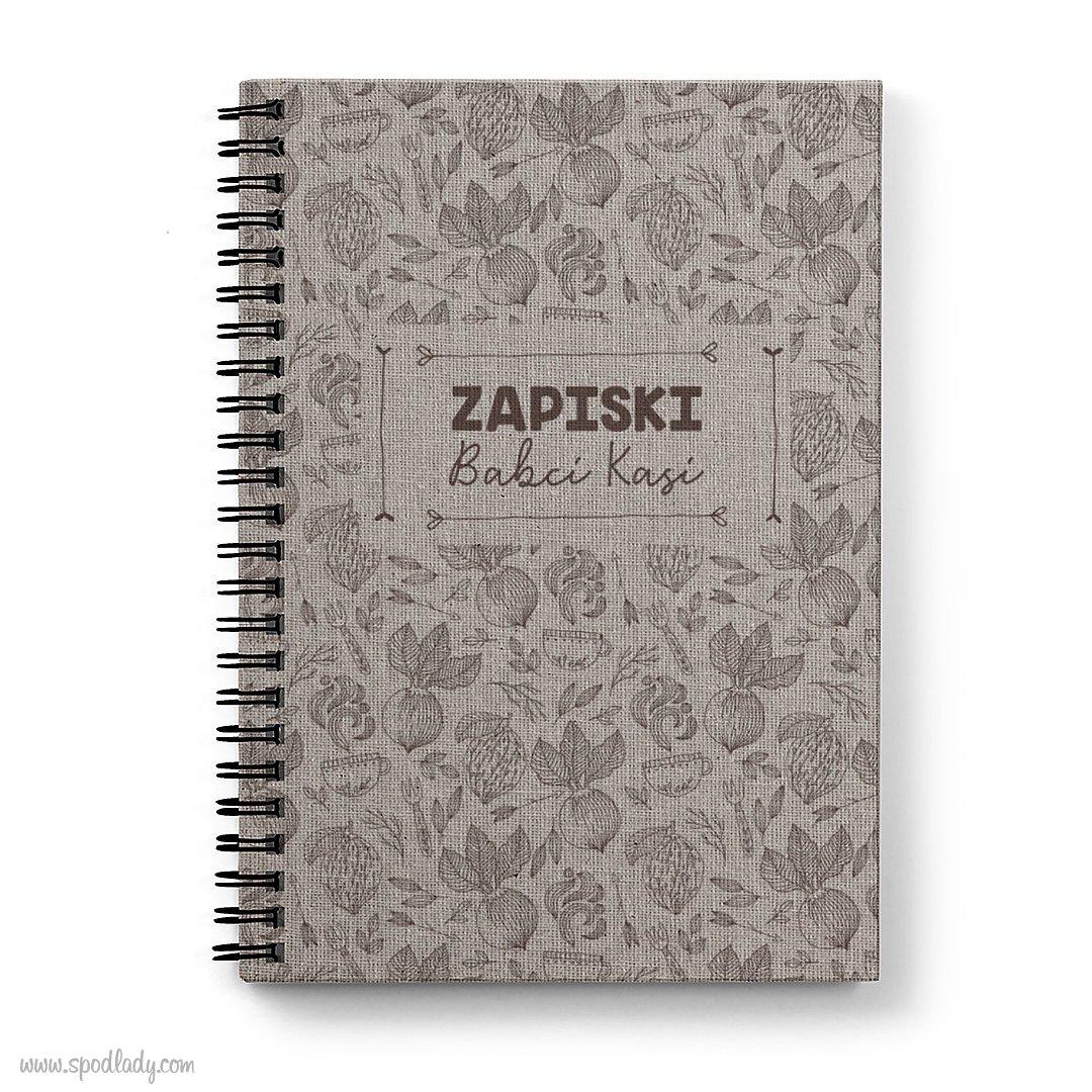 """Personalizowany notatnik """"Zapiski"""""""