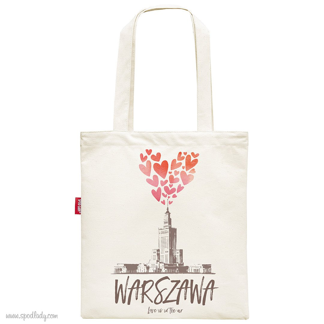 "Torba ""I love Warszawa"""