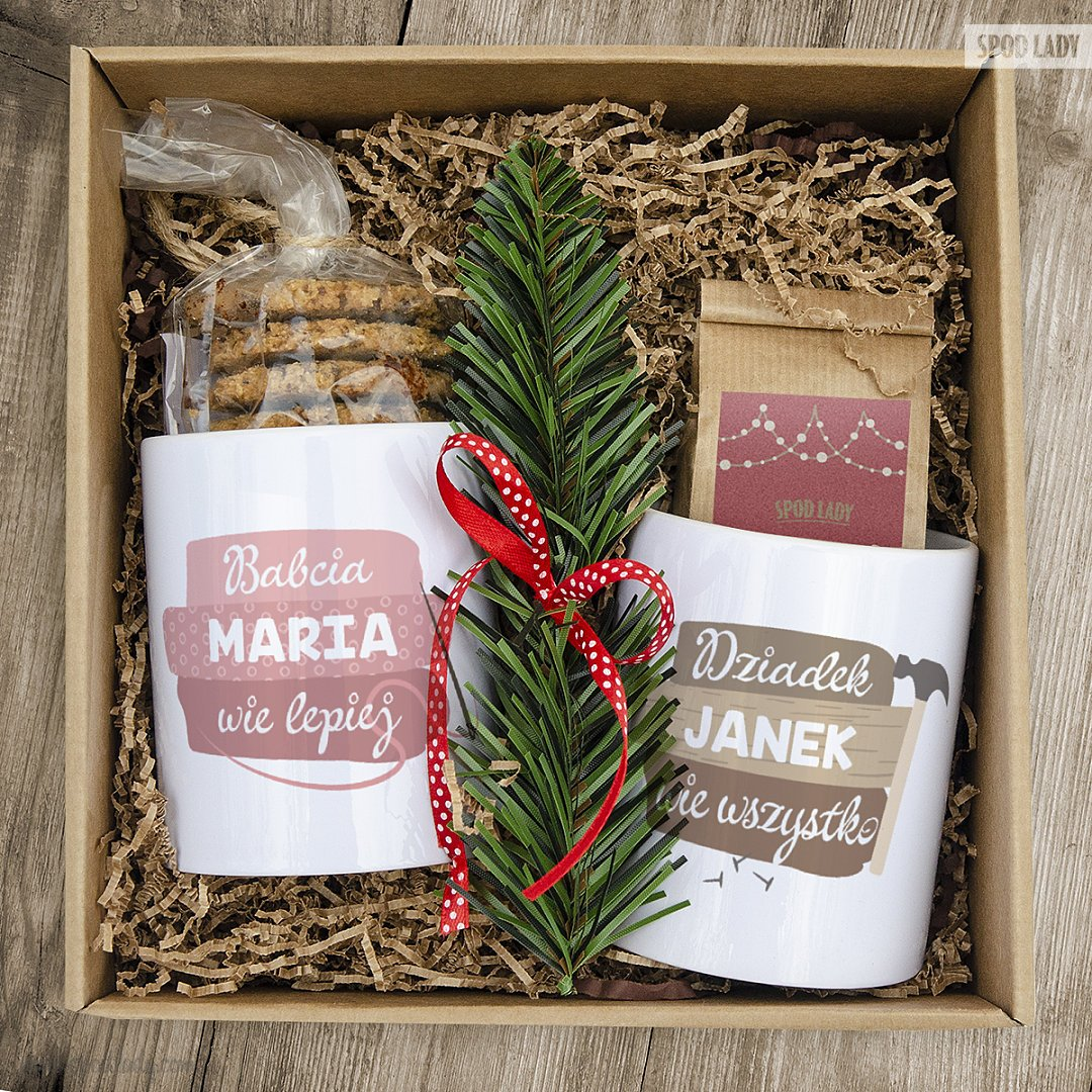Zestaw świąteczny dla babci i dziadka