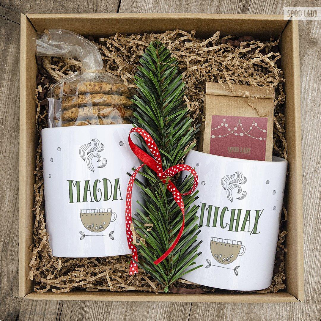 Zestaw herbaciany dla dwojga z kubkami