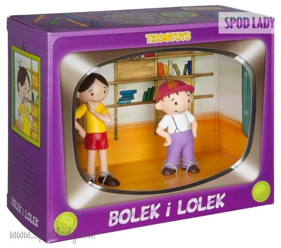 Figurki Bolek i Lolek