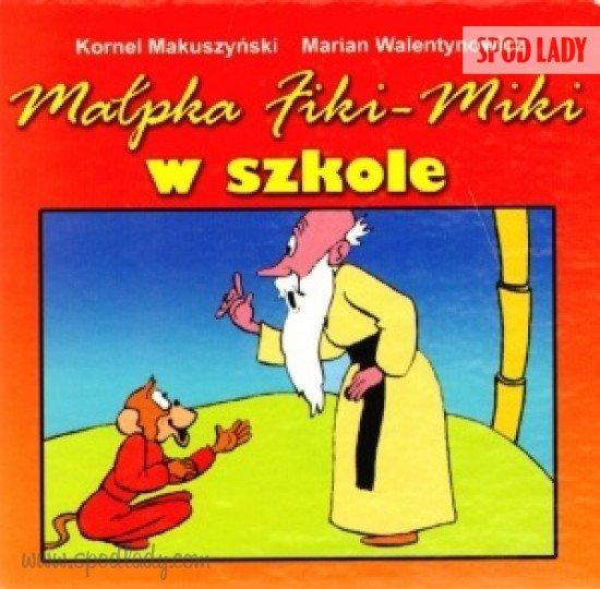 Małpka Fiki-Miki w szkole