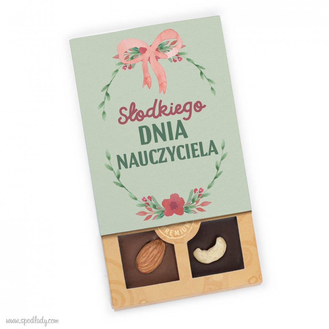 """Mini-czekoladki """"Słodkiego dnia nauczyciela"""""""
