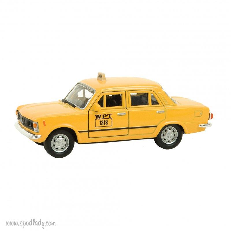 Miniaturka fiat 125p taxi