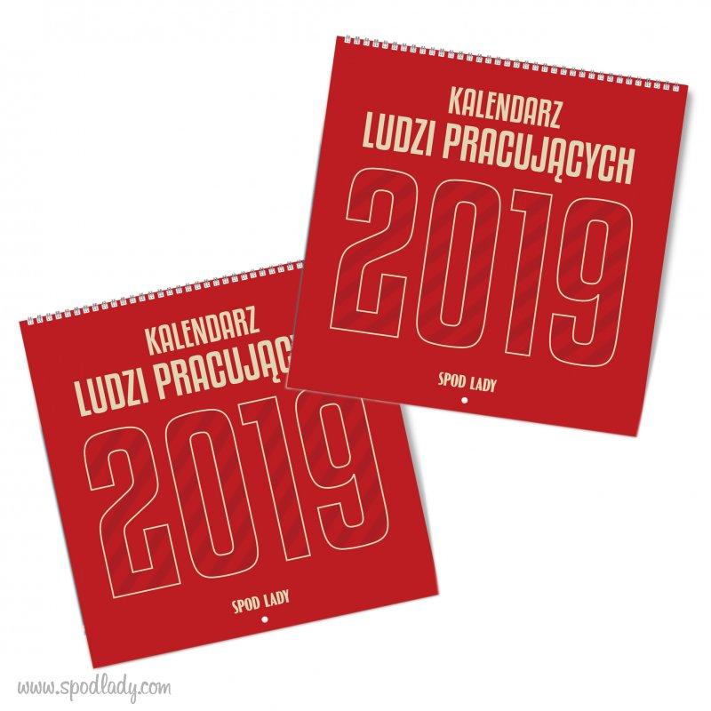 Zestaw dużych kalendarzy 2019