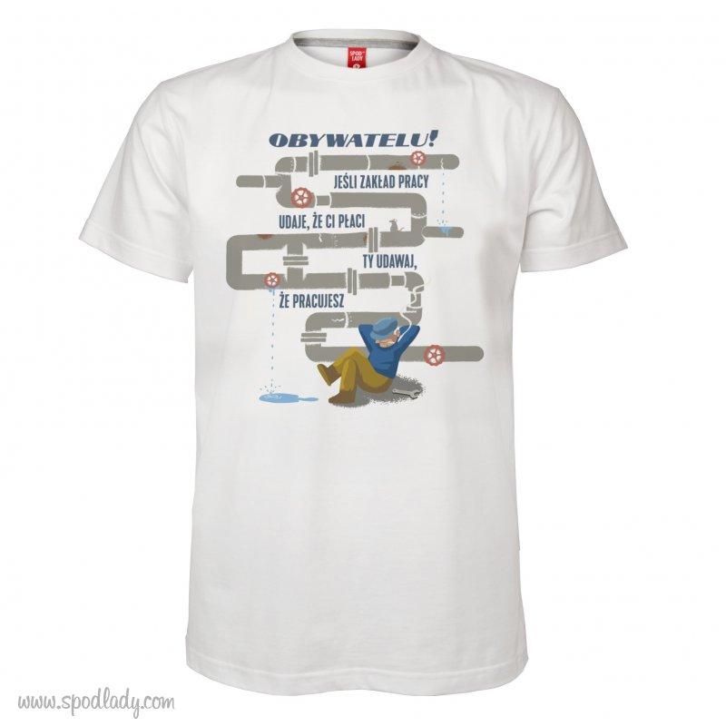 """Koszulka męska """"Jeśli zakład udaje"""""""