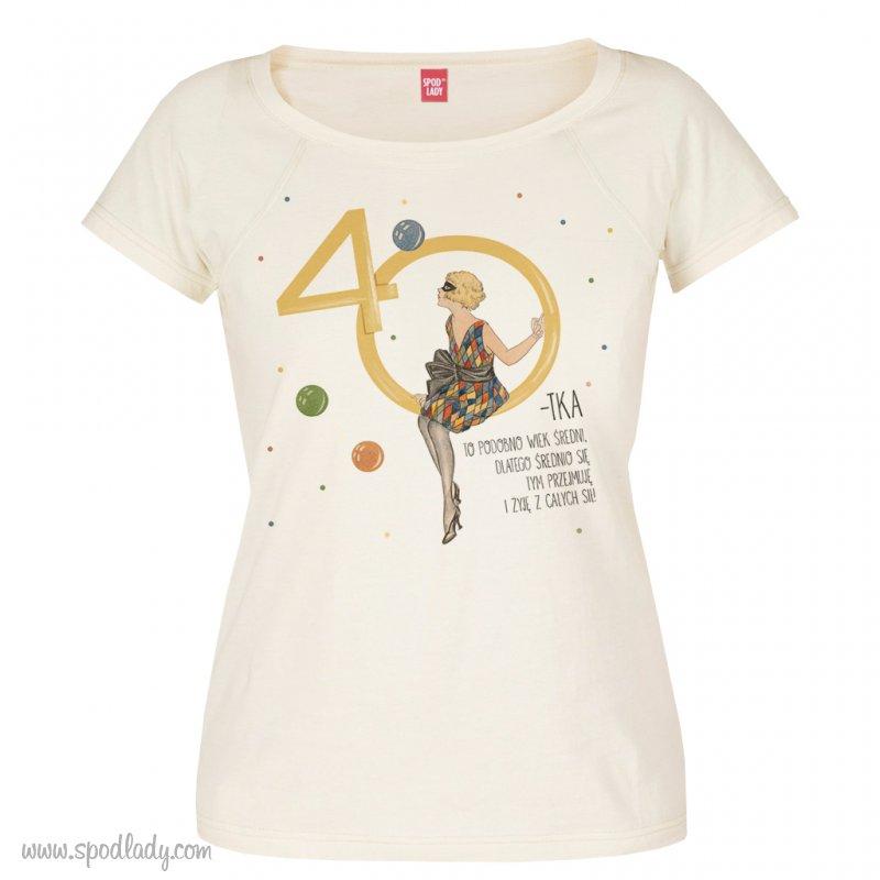 """Koszulka damska """"40-tka"""""""