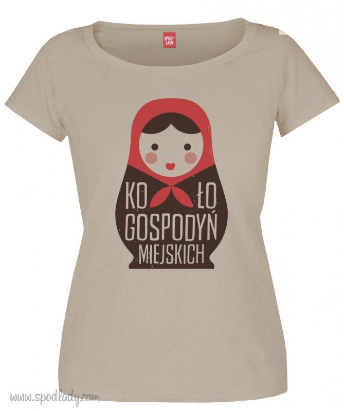 """Koszulka damska """"Koło Gospodyń Miejskich"""""""