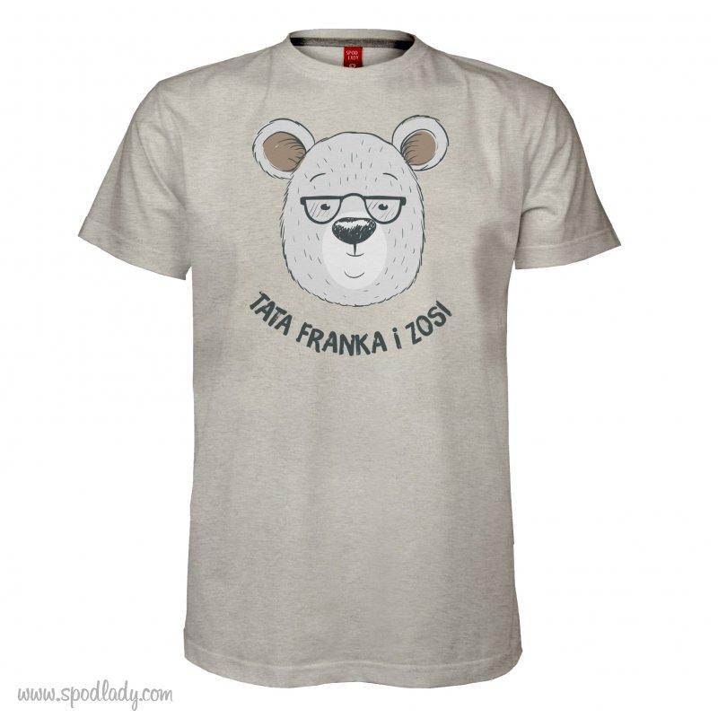 "Personalizowana koszulka męska ""Miś"""