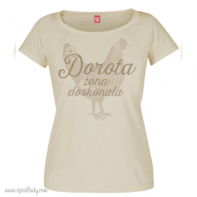 """Personalizowana koszulka damska """"Żona doskonała"""""""