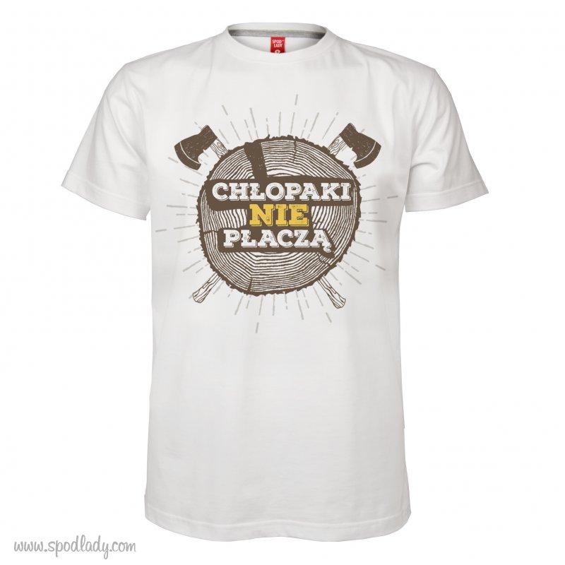 """Koszulka mêska """"Ch³opaki nie p³acz±"""""""