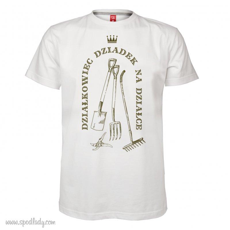 """Personalizowana koszulka mêska """"Dzia³kowiec"""""""
