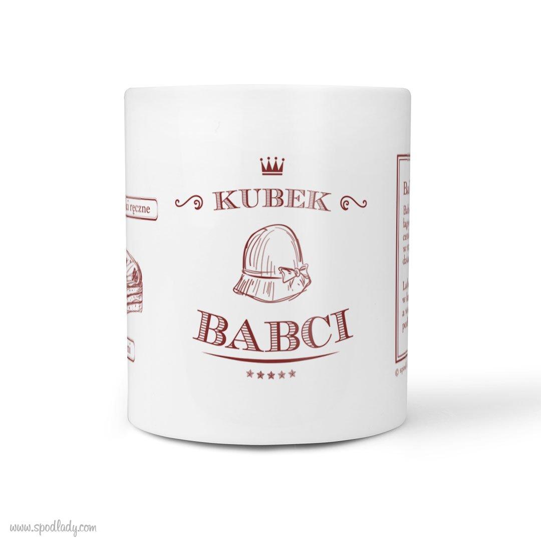 """Kubek """"Babcia"""" z rymowanką"""