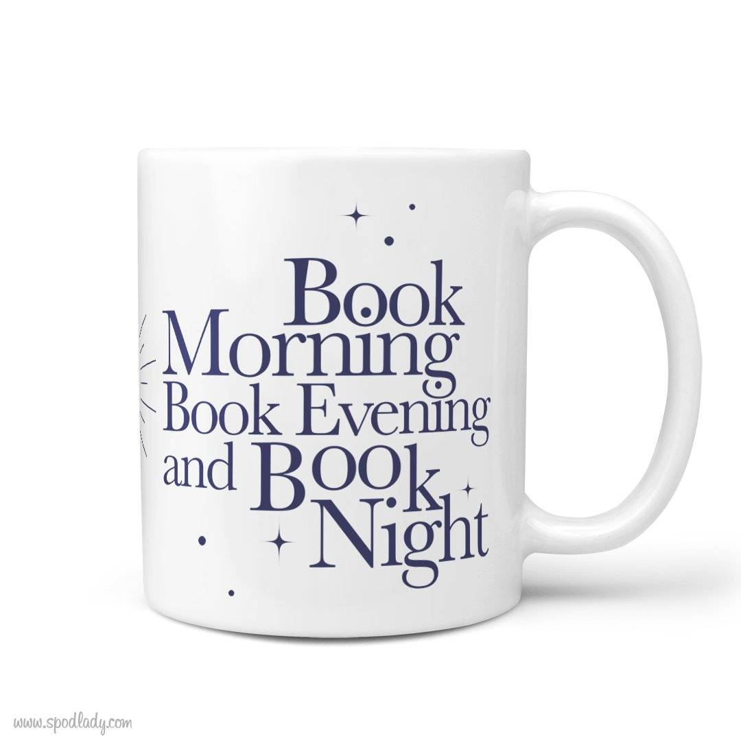 """Kubek """"Book morning"""""""