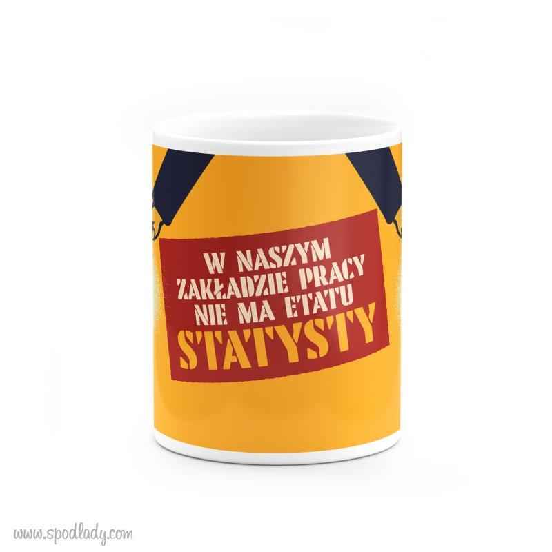 """Kubek """"Statysta"""""""