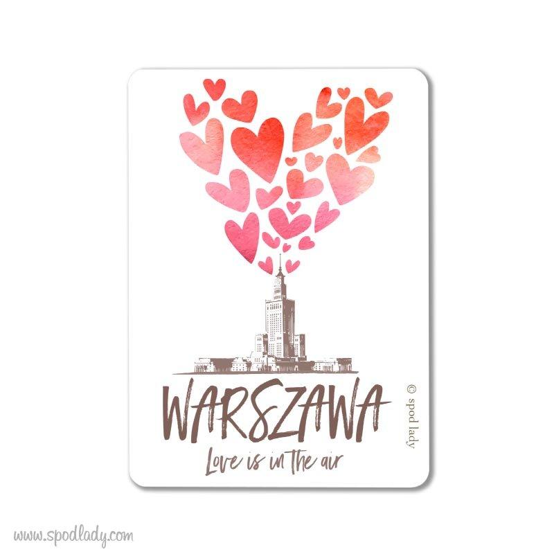 """Magnes """"Warszawa"""" Pałac kultury"""