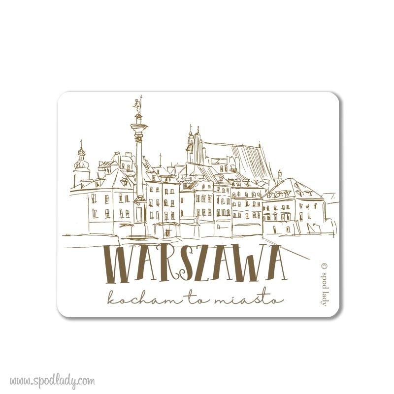 """Magnes """"Warszawa Stare Miasto"""""""