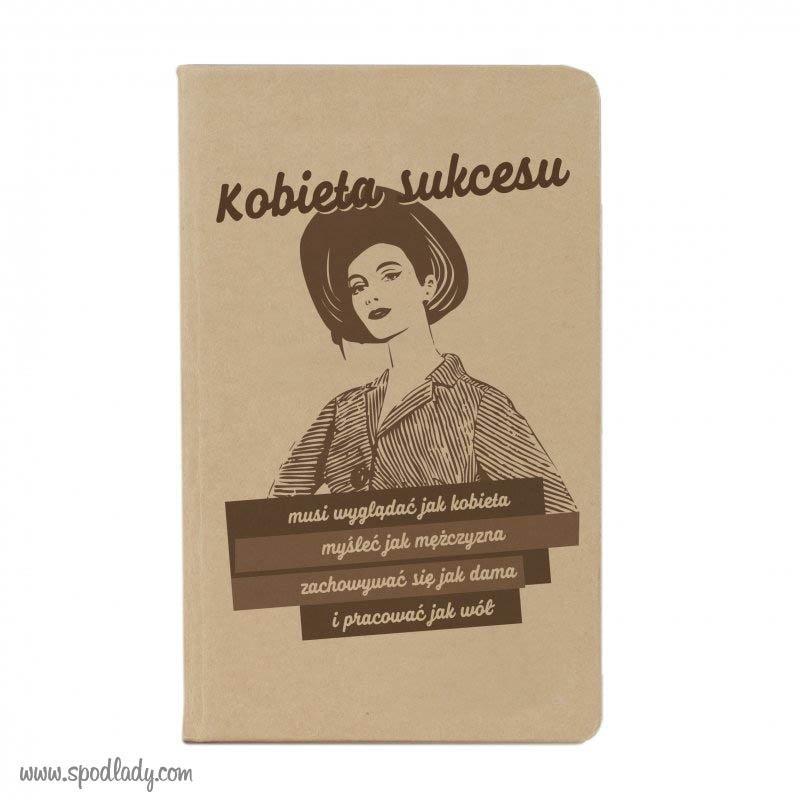 """Notesik """"Kobieta sukcesu"""""""