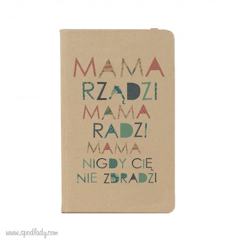 "Notesik ""Mama rządzi"""