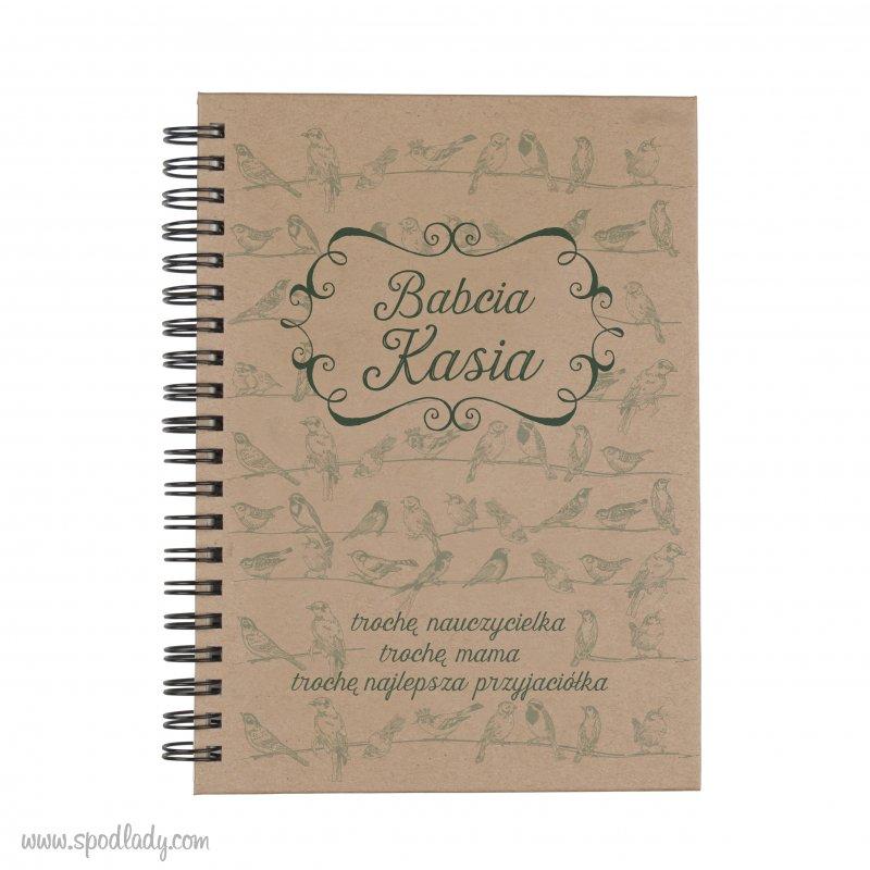 "Personalizowany notes ""Babcia"""