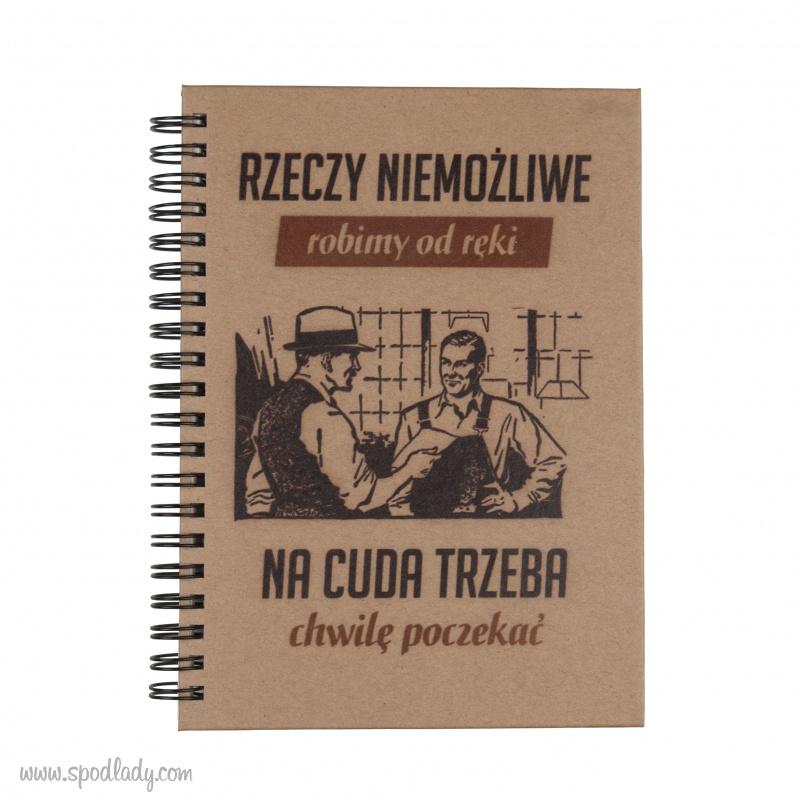"""Notes """"Rzeczy niemo¿liwe"""" stary"""
