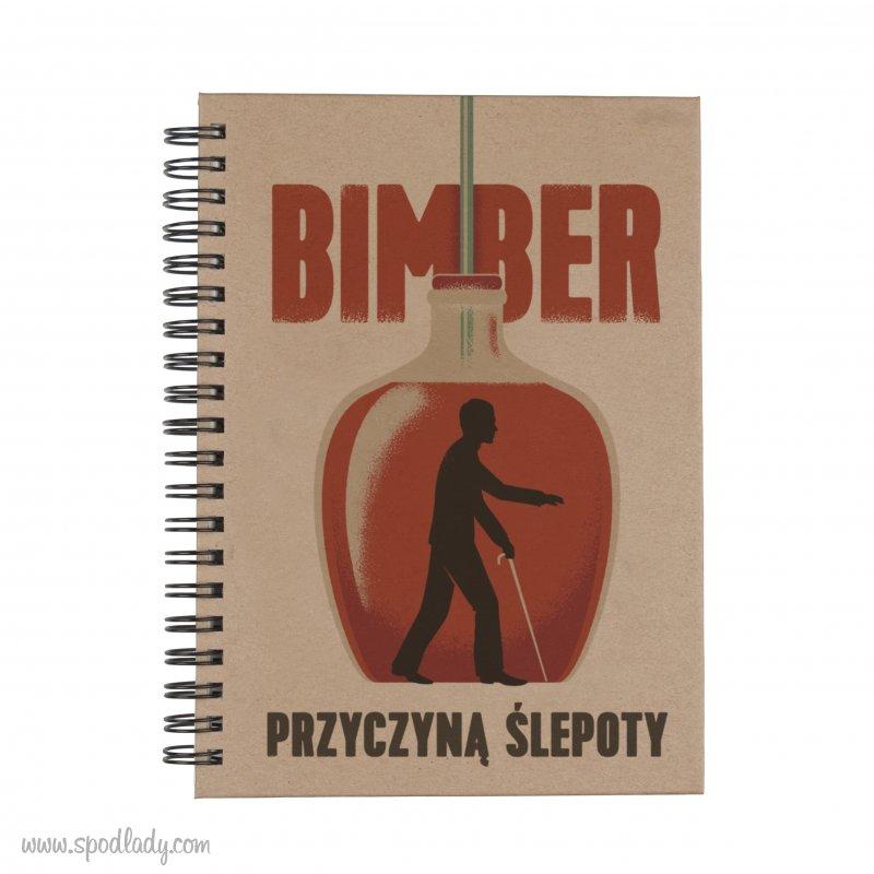 """Notes """"Bimber przyczyną ślepoty"""""""