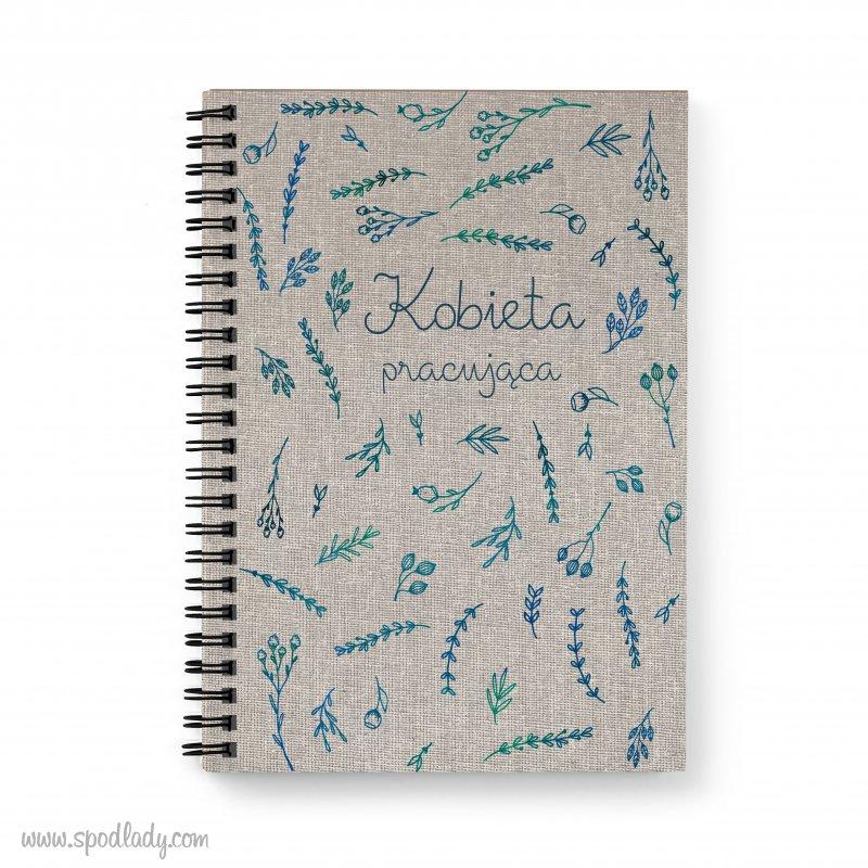 Notes w kwiaty z Twoim tekstem