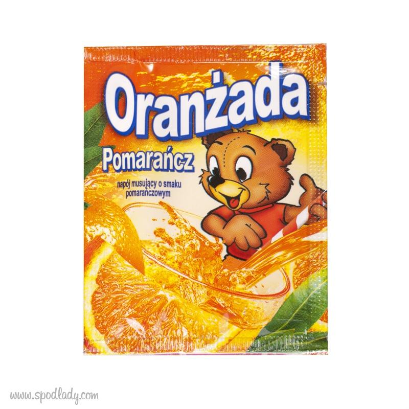 Oranżada w proszku pomarańczowa