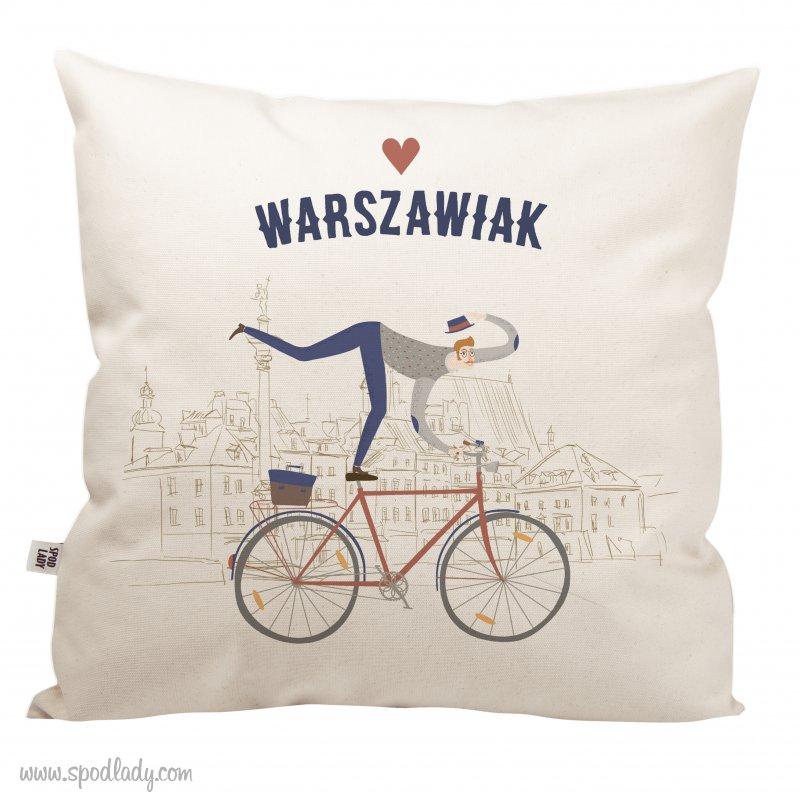 """Poduszka """"Warszawiak"""""""
