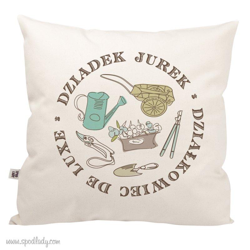 """Personalizowana poduszka """"Dzia³kowiec"""""""