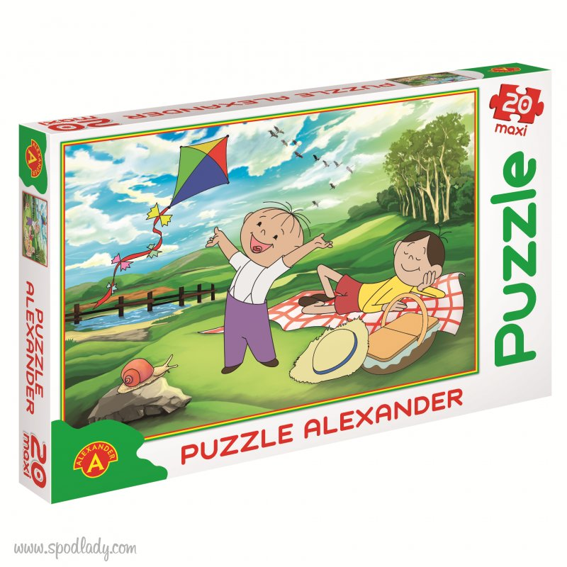 "Puzzle Bolek i Lolek ""Piknik"""