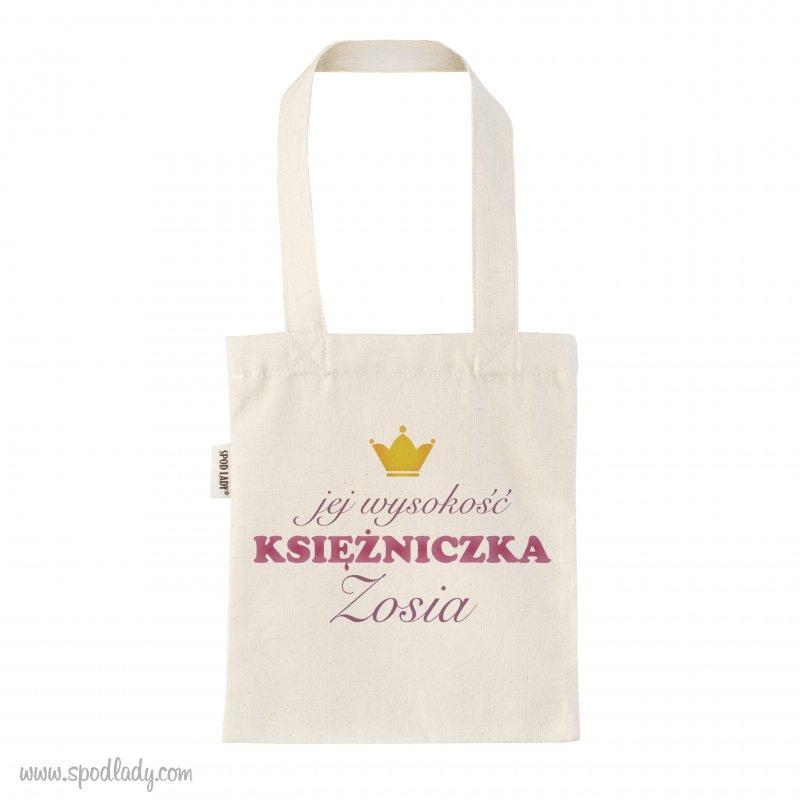 """Personalizowana torba dzieciêca """"Jej wysoko¶æ"""""""