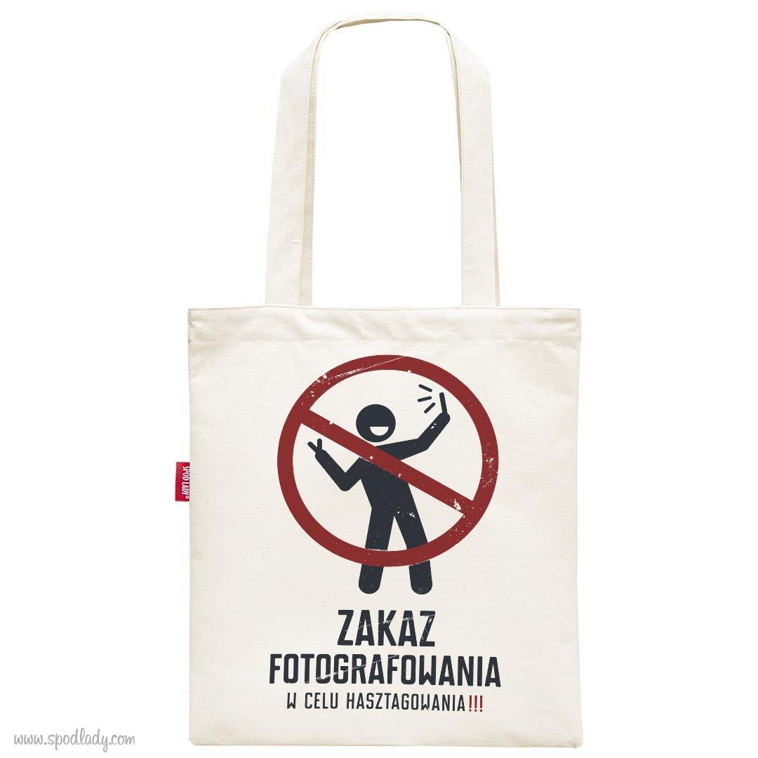 """Torba """"Zakaz fotografowania"""""""