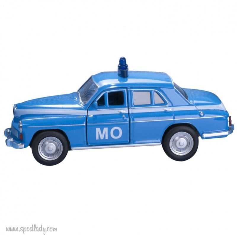 Miniaturka milicyjnej Warszawy